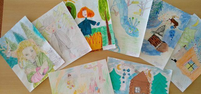 Конкурс рисунков, посвященный творчеству П.П. Бажова